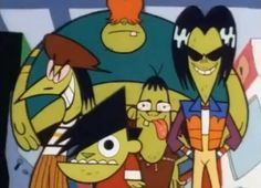 The Gangreen Gang on The PPG so lol.