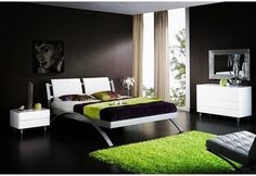 Exotic bedroom desig