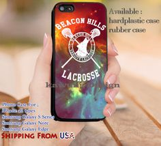 Lacrosse Beacon Hills Stilinski iPhone 6s 6 6s  5c 5s Cases Samsung Galaxy s5 s6 Edge  NOTE 5 4 3 #movie #TeenWolf dl9