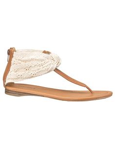 jinger crochet knot sandal (original price, $24) available at #Maurices