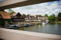 The Swan at Streatley - a lovely riverside venue. #theswanstreatley #wedding