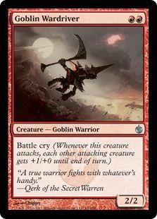 Goblin Mob : Daily MTG : Magic: The Gathering