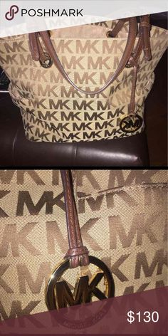 Large Michael Kors Purse Large Michael Kors purse in good condition! Rarely used! Michael Kors Bags Shoulder Bags