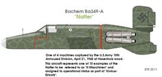 Much debate has surrounded the number of Natters built at the Bachem-Werk and their disposition. According to Bachem, 36 Natters were produced at the Bachem-Werk in Waldsee by the end of the war.