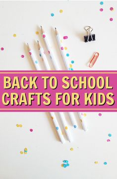 Today I have some pretty awesome Back to School Craft Ideas For Kids that you will love. There are ideas for making your own DIY school supplies, some for cute painting crafts for kids, and even some DIY notebook ideas that will blow you away. #diy #crafts #projects #diycrafts #diyprojects #fundiys #funprojects #diyideas #craftprojects #diyprojectidea #backtoschool Diy Projects For Teens, Diy For Teens, Crafts For Teens, Craft Projects, Craft Ideas, School Projects, Back To School Crafts For Kids, Diy Back To School, School Supplies Organization