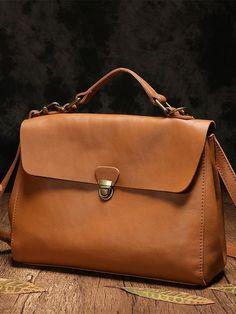 7bf0719e59c2c Handmade Brown Leather Satchel Bags Handbag Purses – iLeatherhandbag Torebka  Hermesa