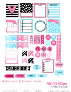 "Hello everyone! Today, is the second time that I will be releasing planner stickers made specifically for horizontal planners. Some of you who are new to the ""planner"" world may wonder what is the difference with this printable as opposed to a vertical Erin Condren planner printables? Well, to start with the measurements are completely … … Continue reading →"