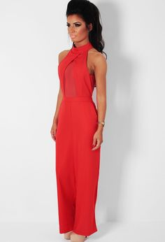 Sexy Red Jumpsuit | tenuestyle | Beautiful Red Jumpsuit Ideas ...
