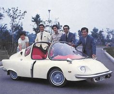 """1967 Subaru 360 Deluxe custom for the 1968 Japanese series: """"Operation: Mystery!"""". This was the patrol car and was called the 'Tortoise'. (Thx Richard D. Law!)"""