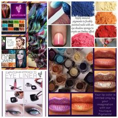 Eye pigments that can be used as eye shadow, hair chalk, nail polish, eye liner and lip color... Can your current eye shadow do that? https://www.youniqueproducts.com/Kimberleycintron/products