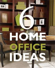 6 Home Office Ideas – Richmond American Homes' Blog