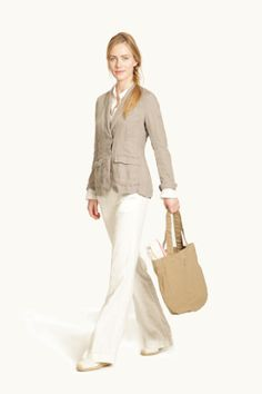 Wear linen with G1  http://www.g1goods.com/