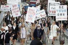 Pin for Later: 13 Chanel Runway Show Sets That Will Take You to Fashion Girl Heaven A Very Fashionable Protest, Spring/Summer 2015