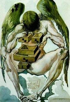 Dali's Angel