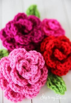 Anabelia craft design: Cute and free spring crochet projects, round-up