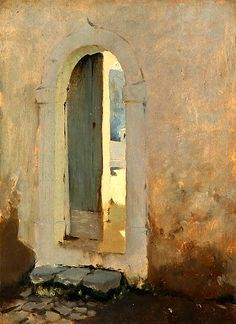 Open Doorway, Morocco, 1879-80 John Singer Sargent