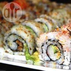 Arroz para sushi @ allrecipes.com.mx