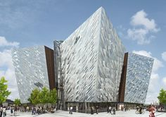 Titanic Belfast ... Arts and heritage centre.  Belfast N.Ireland