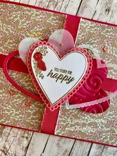 Marvelous Heart Card Ideas For Your Valentines Day 32