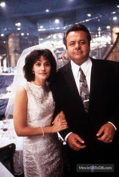 Goodfellas - Behind the scenes photo of Paul Sorvino & Lorraine Bracco