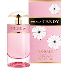 Prada Candy Florale Eau de Toilette found on Polyvore