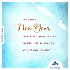 May All The Blessings Of The Lord Be Yours In Abundance In