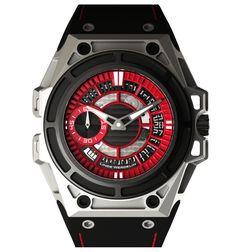 Linde Werdelin : SpidoLite II Titanium Red - Spido - Watches
