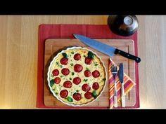 Kalorienarmes und äußerst leckeres Rezept aus der italienischen Küche: TOMATENAUFLAUF mit RICOTTACREME