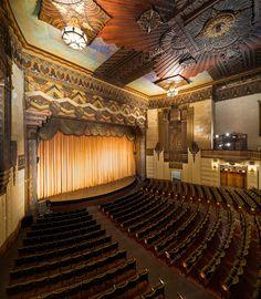 The Warner Grand in San Pedro California is beautiful.  #thewarnergrand #sanpedro #artdecotheater
