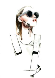 António Soares SS13 Fashion Illustrations