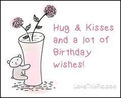 Hug and kisses
