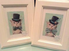 Los gatos de Linker Estudio para diferenciar los regalos de chicos y chicas Drawing, Painting, Weddings, Frame, Inspiration, Home Decor, Guy Gifts, Wedding Decoration, Studio