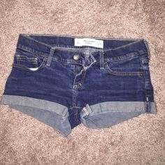 Abercrombie and Fitch Shorts Like new! No longer fit me. Abercrombie & Fitch Shorts Jean Shorts