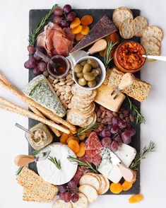 All of our favourites in one spread! Yum! Thank you @wholefullyblog for this delicious platter.