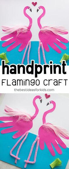 455 Best Handprint Animals Crafts For Kids Images In 2019 Crafts
