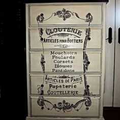 A+Discarded+Dresser+Gets+a+French+Clouterie+Makeover