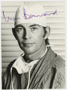 CHRISTIAAN NEETHLING BARNARD (November 1922 – September was a South African cardiac surgeon, famous for performing the world's first successful human-to-human heart Orthotopic transplant. He also performed the world's first Heterotopic heart transplant. Special People, Good People, Christiaan Barnard, First Heart Transplant, People Of Interest, Human Heart, Thinking Day, First Humans, Science