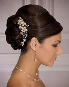 Bridal Hairstyle 2014-2015 | Stylish & Beautiful Bridal Hairstyle 2014-15 for Brides - Fashion Maxi