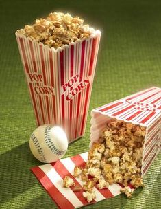 Popcorn seasoning recipes along with ideas for a popcorn bar for a party.