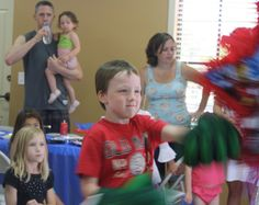 How to Assemble an Awesome Avengers Party - Wellsphere... Thumb Wrestler for piñata. Fun!