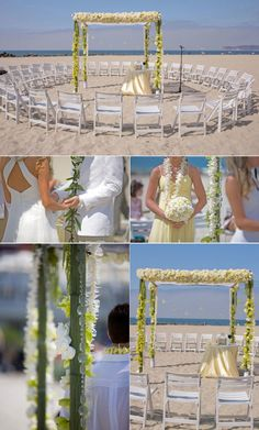Engrossing Beach Wedding Decor - Wedding Fuz | Wedding Fuz