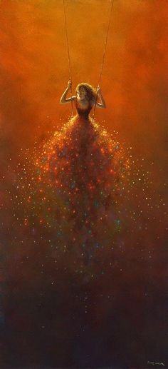 "By Jimmy Lawlor.because I love to ""swing"" this makes me love this painting Jimmy Lawlor, Art Graphique, Art Plastique, Beautiful Artwork, Oeuvre D'art, Belle Photo, Love Art, Painting & Drawing, Swing Painting"