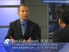 Dr. David Scharf, the premier periodontist on  Long Island is interviewed on The wellness Hour discussing Laser Periodontal treatment