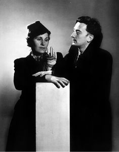 Man Ray: Salvador Dali and Gala, 1936