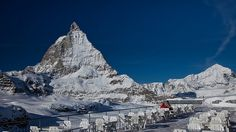 Matterhorn - didn't get to climb, but at least we got to see it.