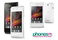 White edition Sony Xperia E - Check out today's cheapest contract prices & most popular deals: https://www.phonesltd.co.uk/Sony/XPERIA_E_White_Deals.html #sonyxperiaewhite #sonyewhite #xperiaewhite