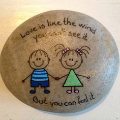 Rocks - Crafts - Evie, Bree, YaYa & Mama.