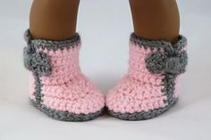 """Ravelry: Fashion Boots 3 Styles - 18"""" American Girl Doll pattern by Yay For Yarn Patterns"""