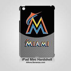 Miami Marlins iPad MINI Case Cover Hardshell