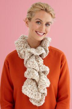 Ruffle Scarf (Crochet)